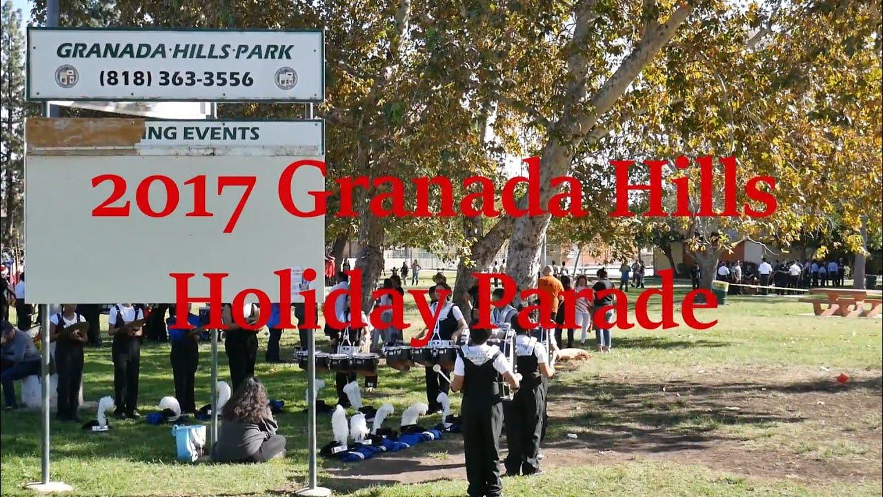 2017 Granada Hills Holiday Parade - YouTube