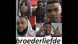 Broederliefde Vertrekt Na Het Optreden & signeersessie @  Fame Megastore Amsterdam