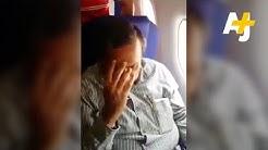 Girl Shames Man For Groping Her On Plane