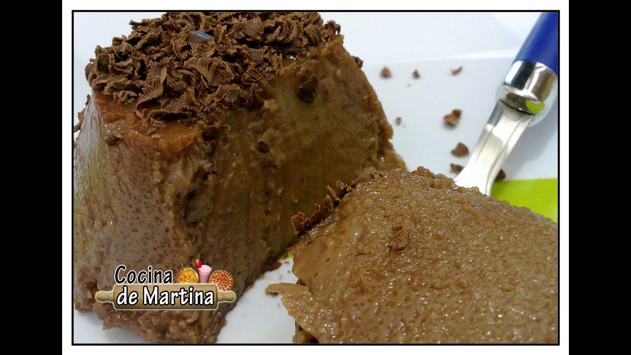 Flan de chocolate casero recetas de cocina cocina de for Cocina de martina