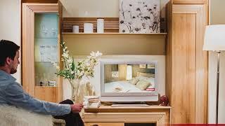 Обзор мебели для гостиной Диана фабрики Заречье