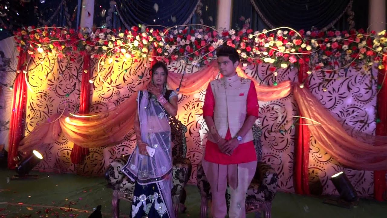 Dulha dulhan entry wedding decoration raipur india crazy chaps youtube premium junglespirit Image collections