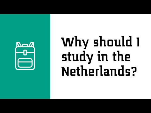 Why should I study in the Netherlands?