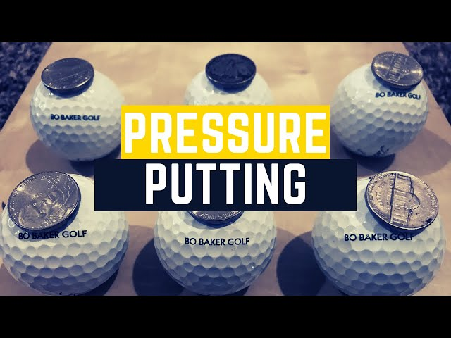 Putting Under Pressure Golf Drill: Survivor