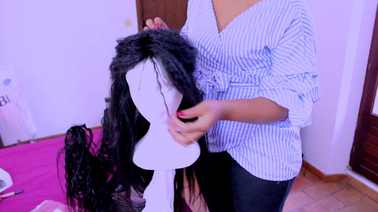 comment faire une perruque avec un tissage yaki straight youtube. Black Bedroom Furniture Sets. Home Design Ideas
