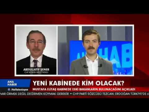 Yol Tv Onur Toper ile 19:00 Ana Haber Tlf  Bağlanısı  Abdülatif Şener