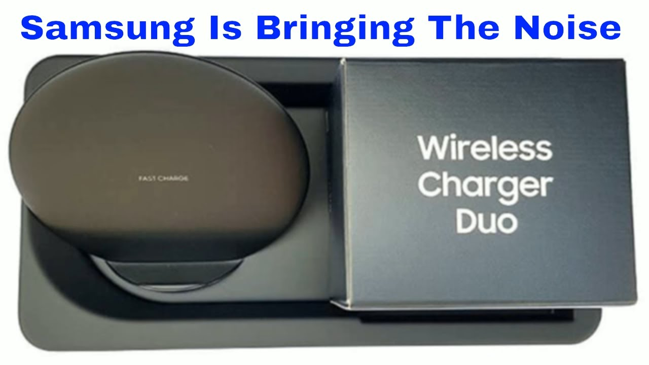 Samsung Wireless Charger Duo On Show At Recent Amazon Event