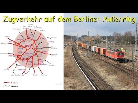 Züge auf dem Berliner Außenring - Berlin & Brandenburg