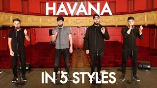 Download Lagu Berywam - Havana (Camila Cabello Cover) In 5 Styles - Beatbox mp3