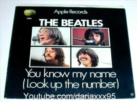 (DISCO RUIDO & THE BEATLES ) Mrs.LOVE * You know my name (Look up the number) mp3