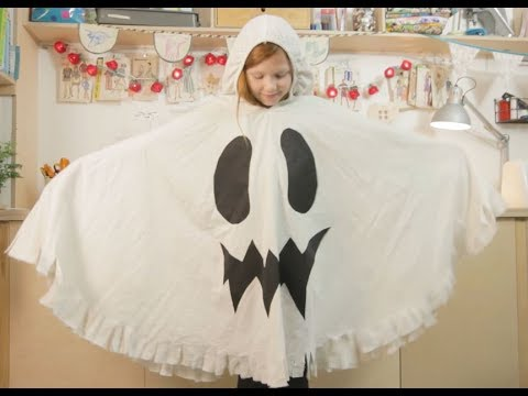 family crafts how to make a halloween ghost costume from an old