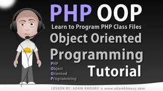 Object Oriented Programming Tutorial PHP Class File Creation Learn OOP