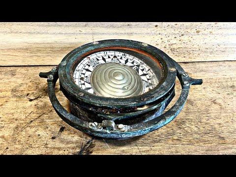 Antique Ship Compass Restoration