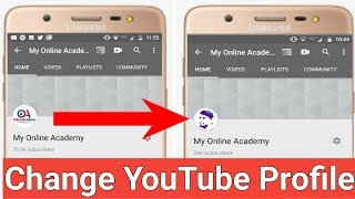 How to change YouTube Profile picture on Android and ios 2020 || YouTube profile picture