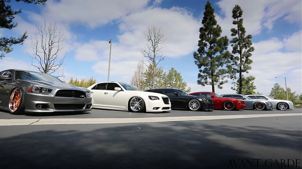 Chrysler dodge lx platform pre spring fest 2014 meet ag wheels youtube