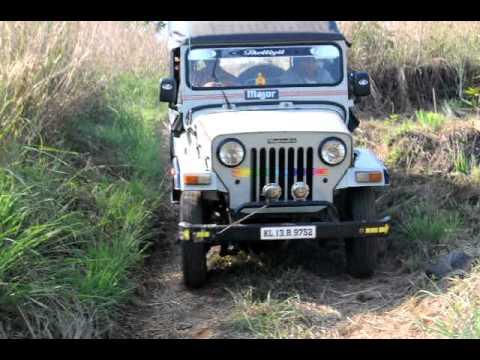 Mahindra Jeep 4 X 4 At Erappamthodu Nambikulam Road Koorachundu
