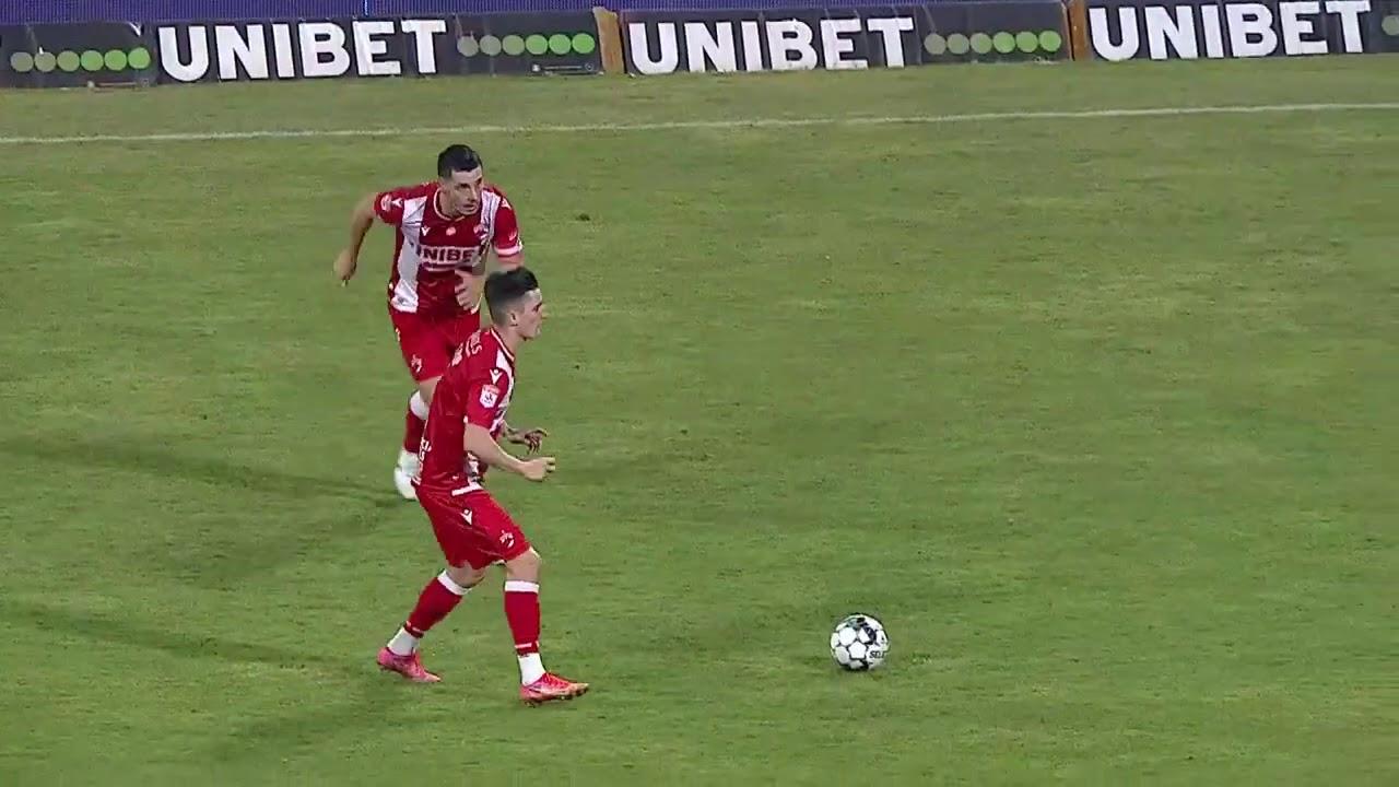Динамо Бухарест  0-5  Вииторул видео