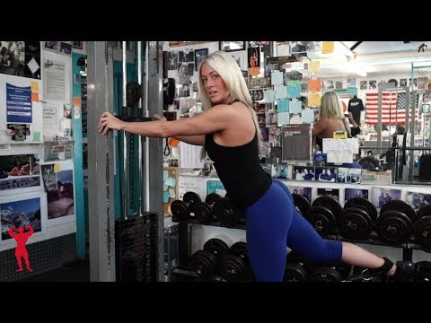 Jamie Collins' Glute Tutorial at Fitness City