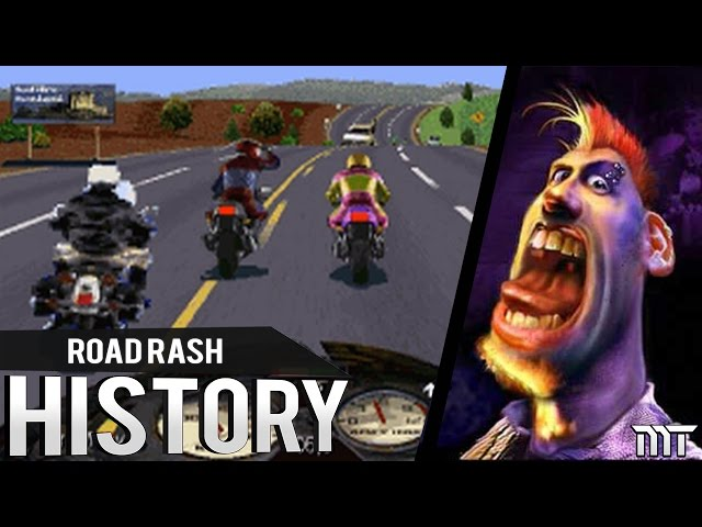 History of ►ROAD RASH◄ (1991-2017)