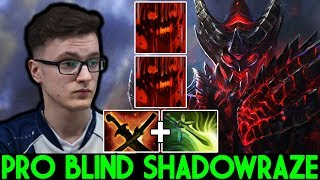 MIRACLE [Shadow Fiend] Epic Blind Shadowraze Signature Hero Gameplay 7.23 Dota 2