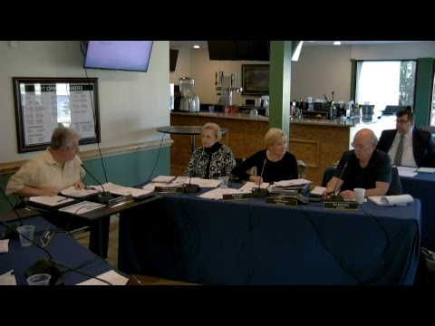 Regular Board Meeting: Jan. 27