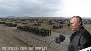 China-Russia Military Alliance: Vostok 2018 Military Parade - Восток-2018