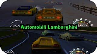 Super Speed Race 64 ( Automobili Lamborghini ) N64 Gameplay HD
