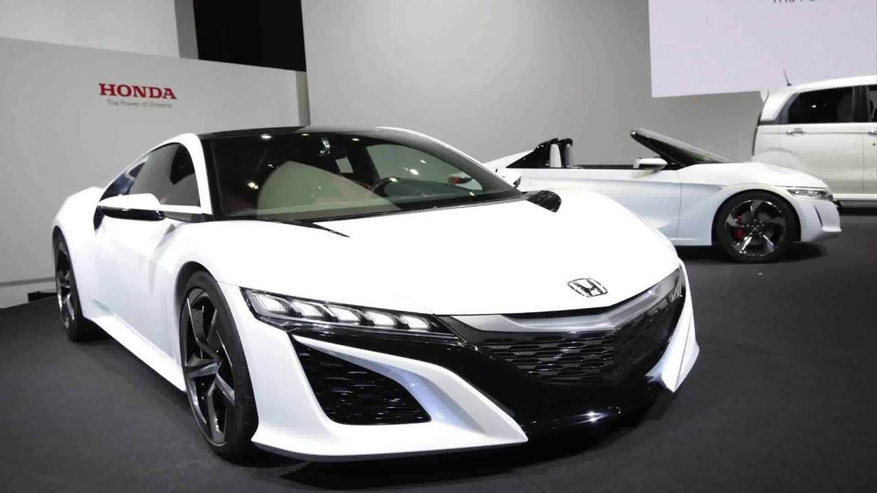 2015 model new honda acura nsx concept - YouTube