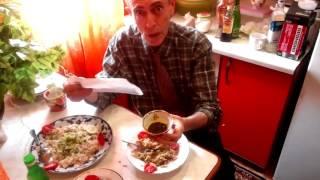 Противоопухолевый овощной сырой салат с бальзамом - питает, очищает, омолаживает!!!