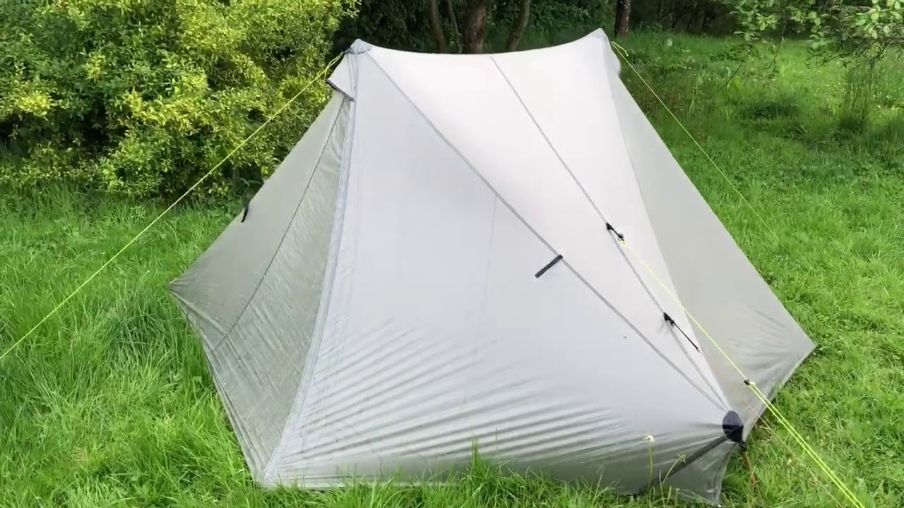 Condensation comparison of Silnylon and Cuben (DCF) tents HD version & Condensation comparison of Silnylon and Cuben (DCF) tents HD version ...