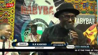 ORIGINAL K K KABOBO PERFORMS ONYAME EHU WO WITH ARK BAND ON THE HABYBA.