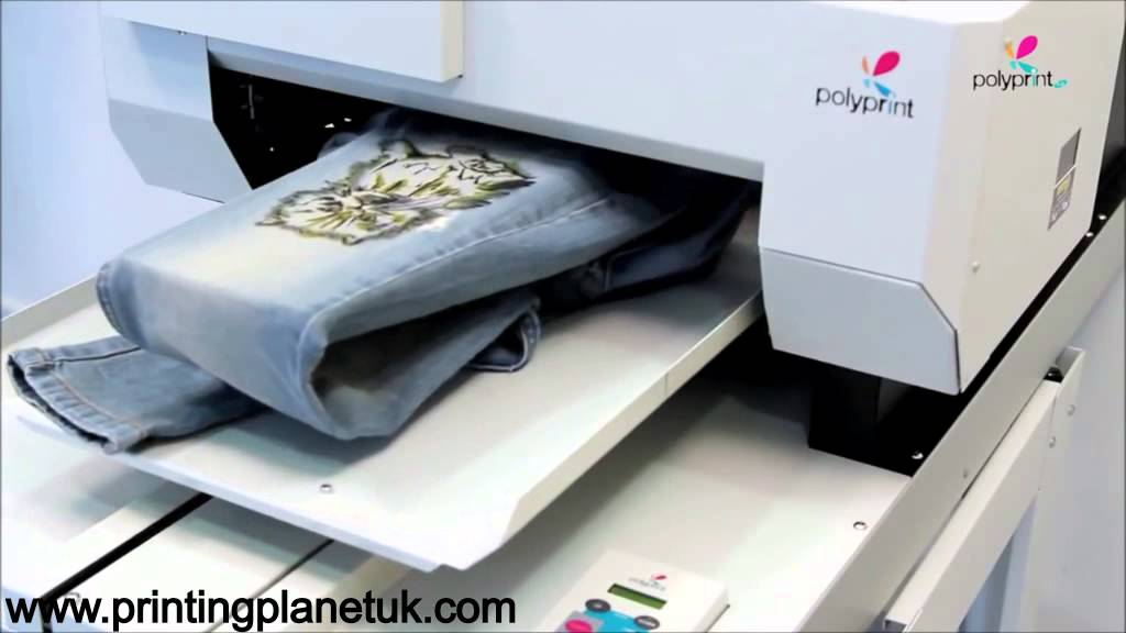 How to print t-shirts using DTG printers/ Cheap t-shirt printing ...
