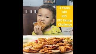 KFC Eating Challenge - 3 Years Manipuri Kid