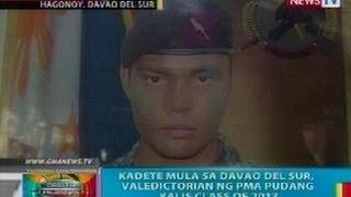 BP: Kadete mula sa Davao del Sur, valedictorian ng PMA Pudang Kalis Class of 2013