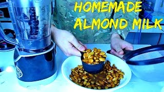 Homemade Almond Milk - Food Hack