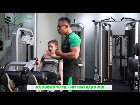 BÀI 5: LEG EXTENION - Bài tập giúp săn chắc và cải thiện cơ đùi trước