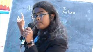 English A Day By Aiswarya T Anish (10th Grade Student) at KPM Model School,Mayyanad,Kerala,India