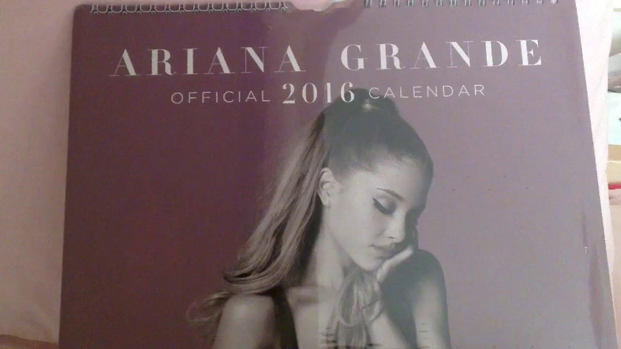 Ariana Grande Calendario.Calendario Official Ufficiale 2016 Ariana Grande By Eli Lillyrose