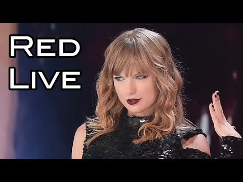 Taylor Swift Live Red 2018 In Texas.