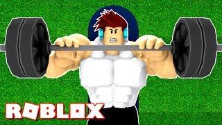 ROBLOX-I'M GETTING STRONGER!! (Simulatore di sollevamento pesi Roblox)