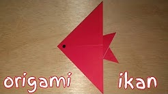 Origami Fish Koi Easy - How to make a Fish Koi with Paper - YouTube | 138x246