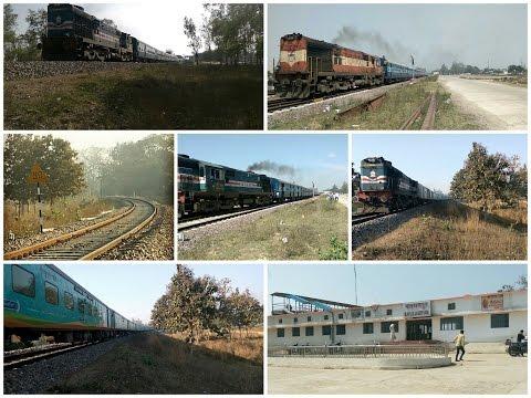 Diesel Trains of NER Loop Line Section.