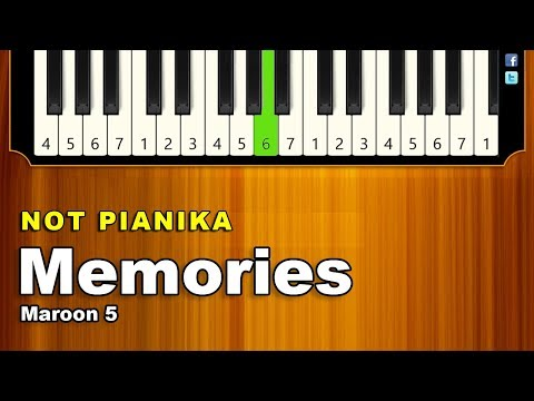 Not Pianika Memories Maroon5 ✅