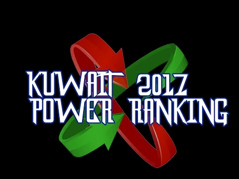 Kuwait 2017 power ranking