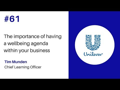 Episode #61 The Importance of having a wellbeing agenda