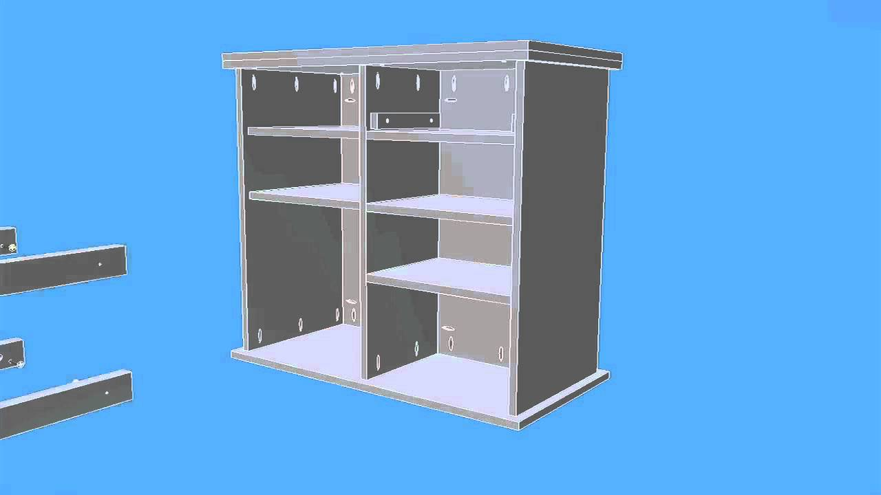 Kitchen Cart Plans And Step By Step Instructions   YouTube