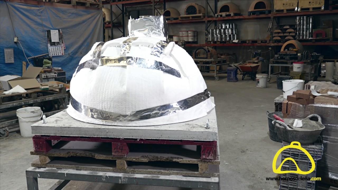 Fabricaci n artesanal de los hornos de le a tradicionales youtube - Hornos de lena tradicionales ...
