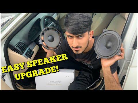 BMW Speaker Upgrade! EASY DIY INSTALL! BAVSOUND REVIEW