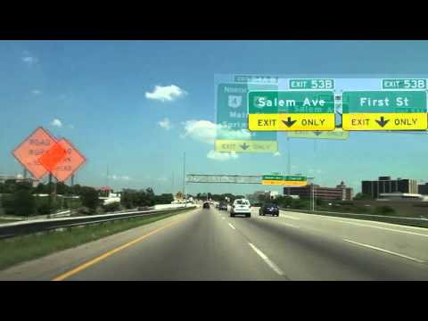 I-75 North to the Airport: Dayton, OH