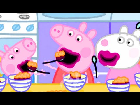 Peppa Pig English Episodes | Peppa Pig Loves Blackberry Crumble | Peppa Pig Official